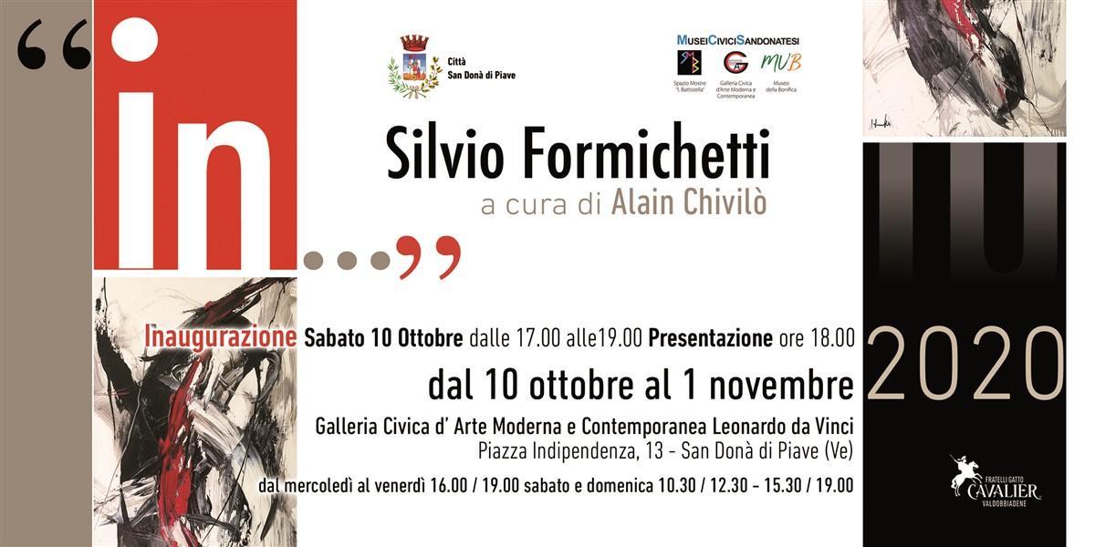 Invito Silvio Formichetti In, by Alain Chivilò, Galleria Civica San Donà di Piiave, Ve