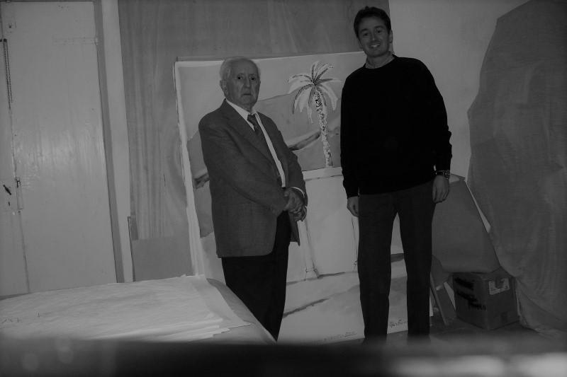 Saverio Barbaro a sx Alain Chivilo a dx Montorio Studio, 13-11-2010