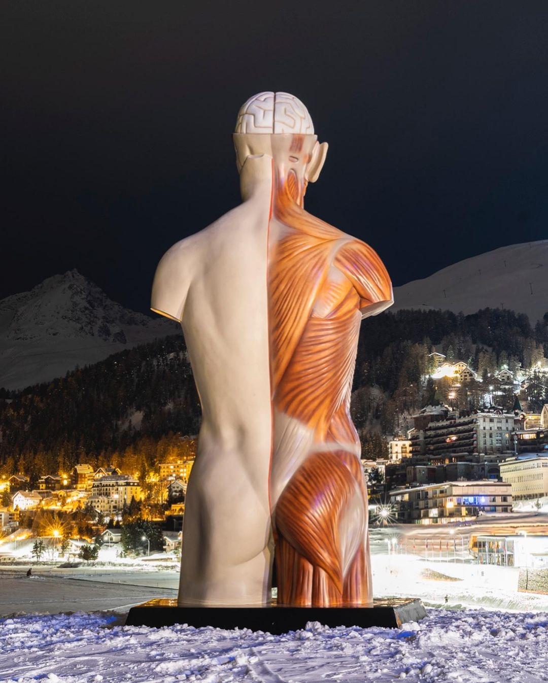 Damien Hirst, Temple, 2021, St Moritz, Dimlej (6)