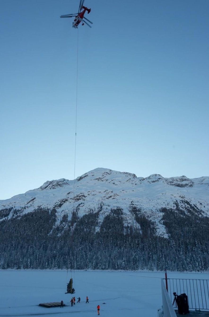 Damien Hirst, The Monk, 2021, St Moritz, Lake (7)