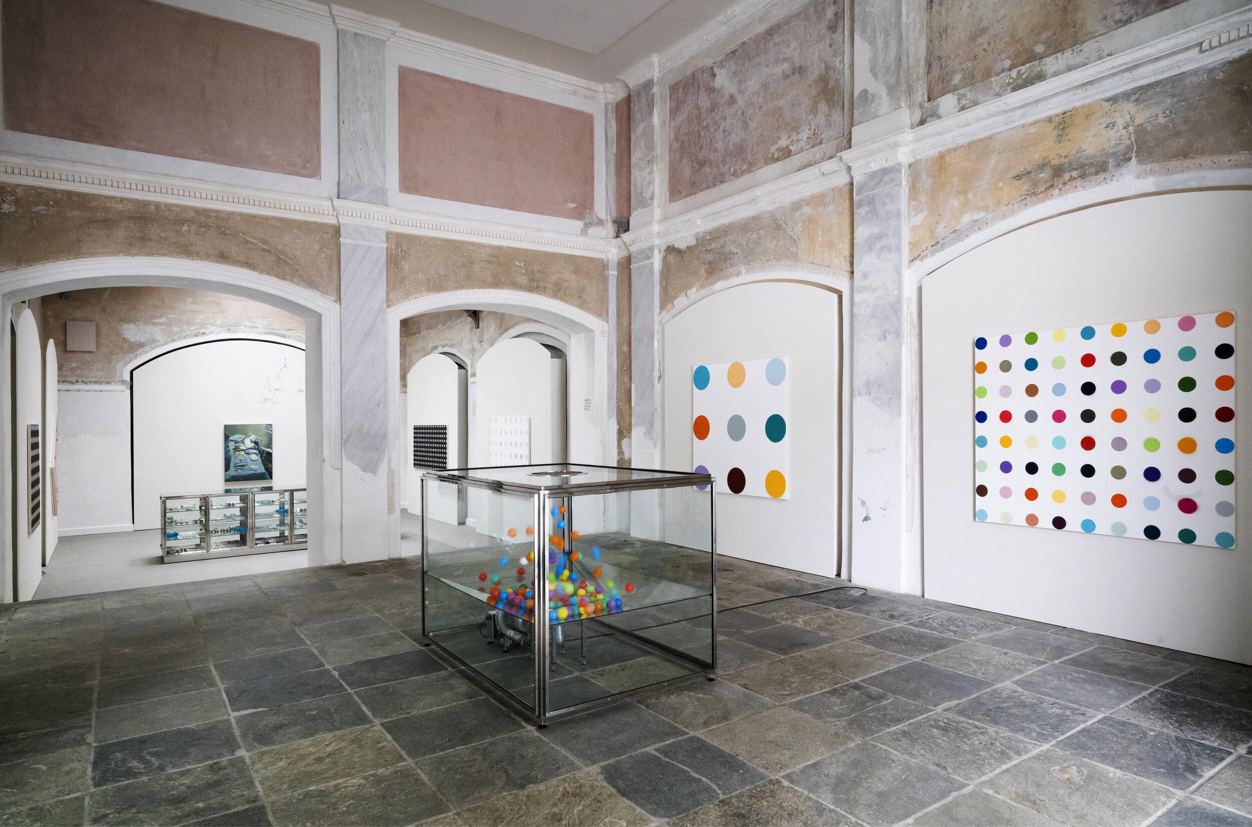 Forum Paracelsus, Damien Hirst, St. Moritz Bad, 2021, St Moritz