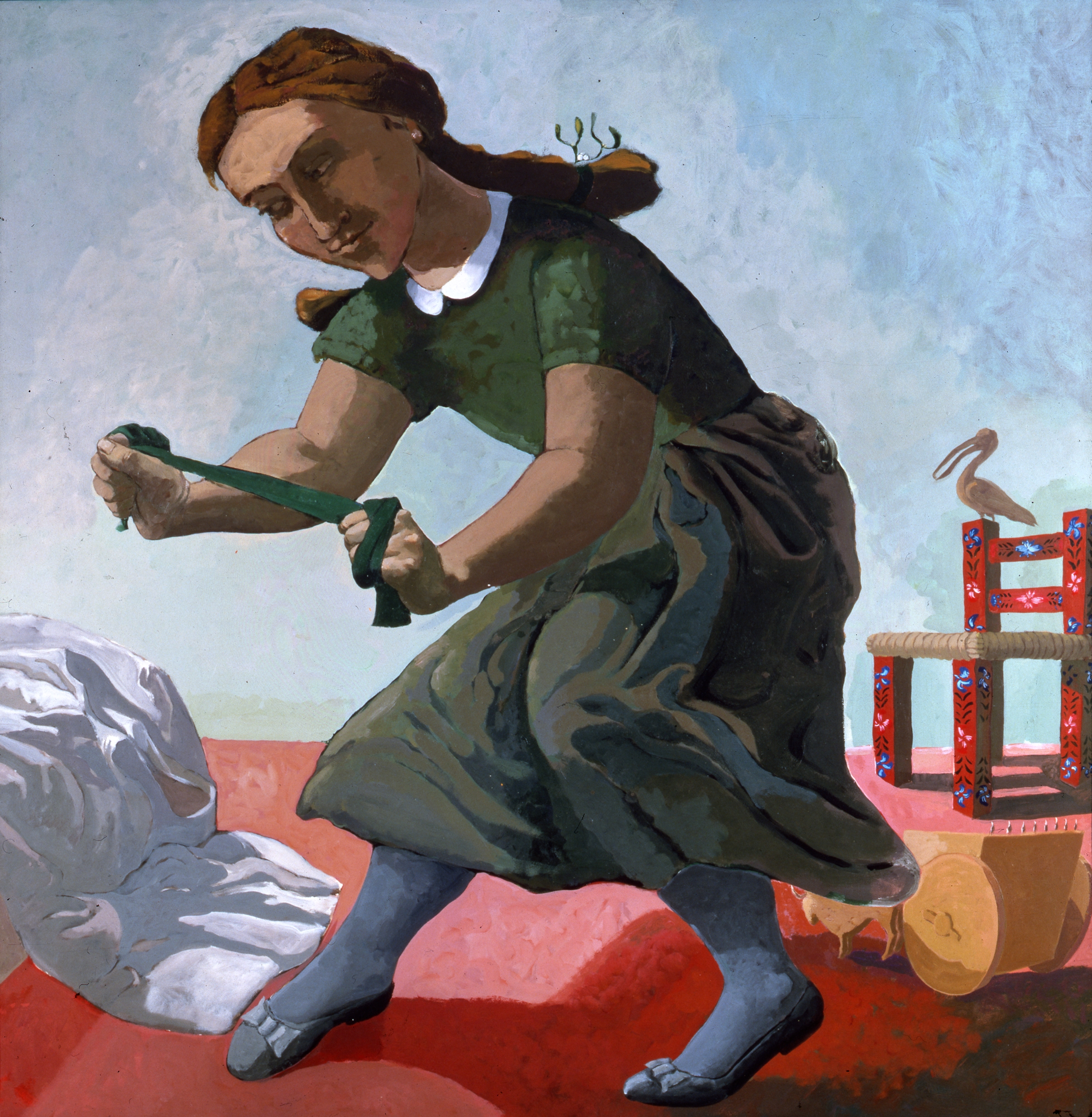 Paula Rego The Little Murderess 1987. Private Collection, England © Paula Rego