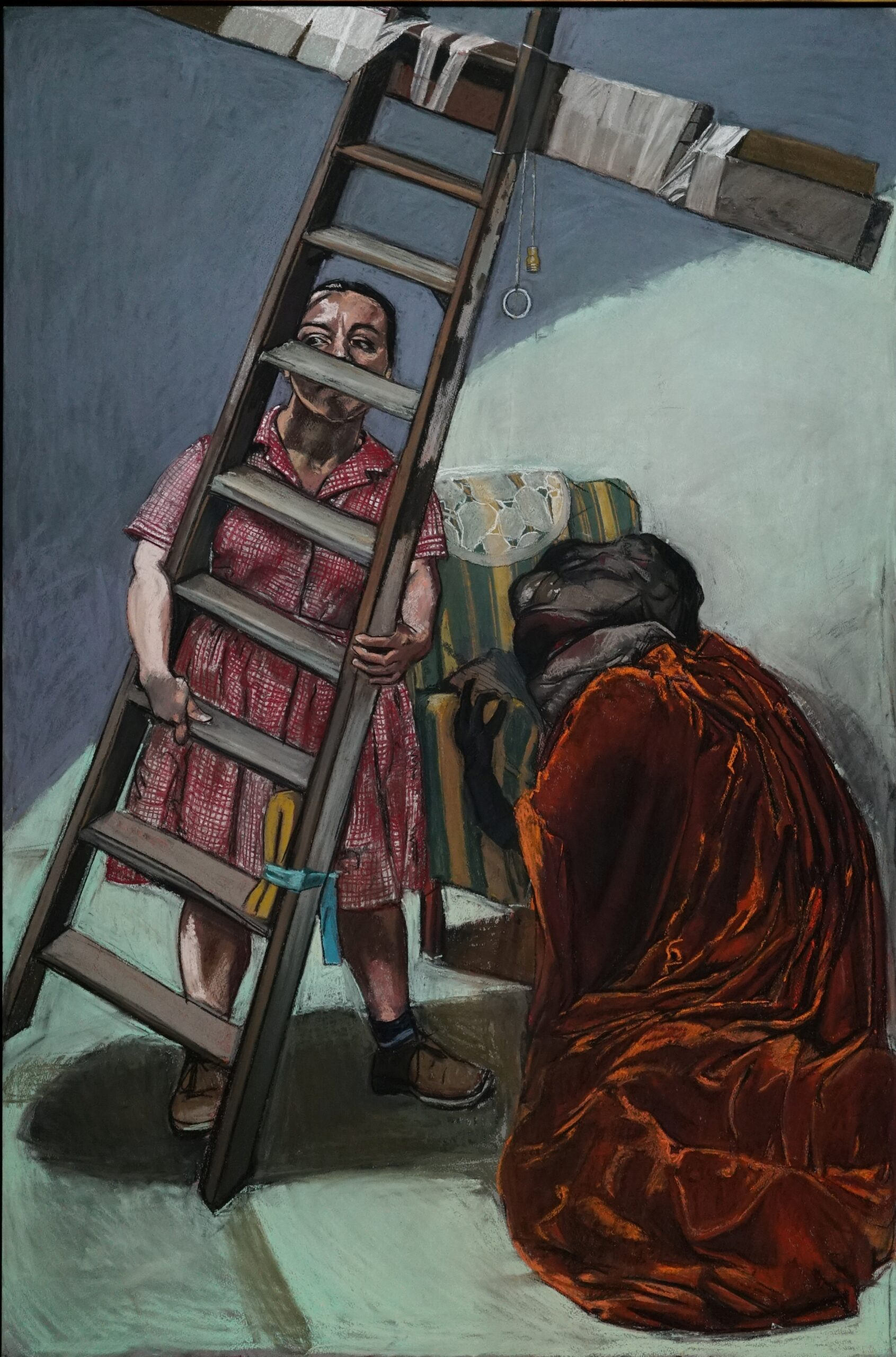 Paula Rego The Pillowman 2004. Private Collection, London © Paula Rego