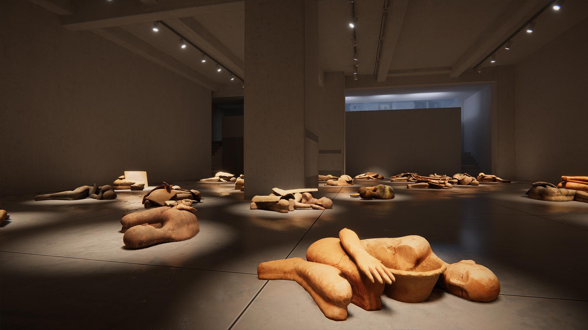 I Dormienti di Mimmo Paladino, Cardi Gallery, 1