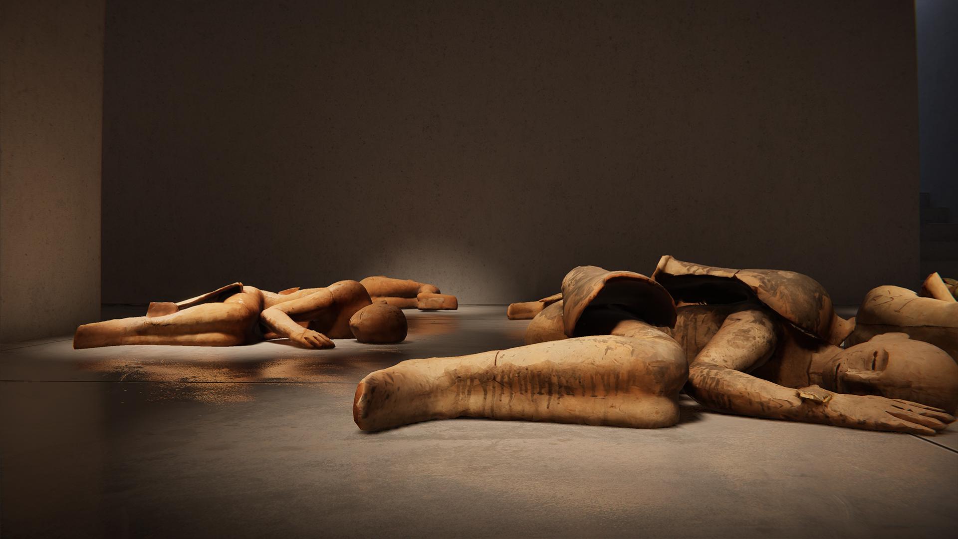 I Dormienti di Mimmo Paladino, Cardi Gallery, 2