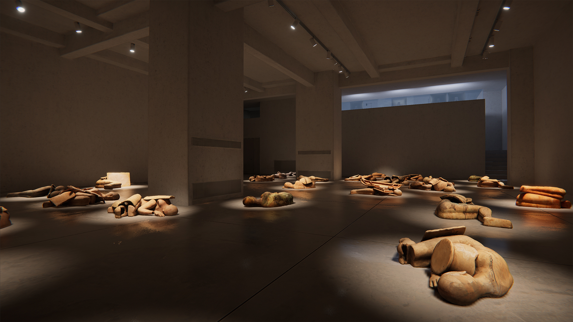 I Dormienti di Mimmo Paladino, Cardi Gallery, 3