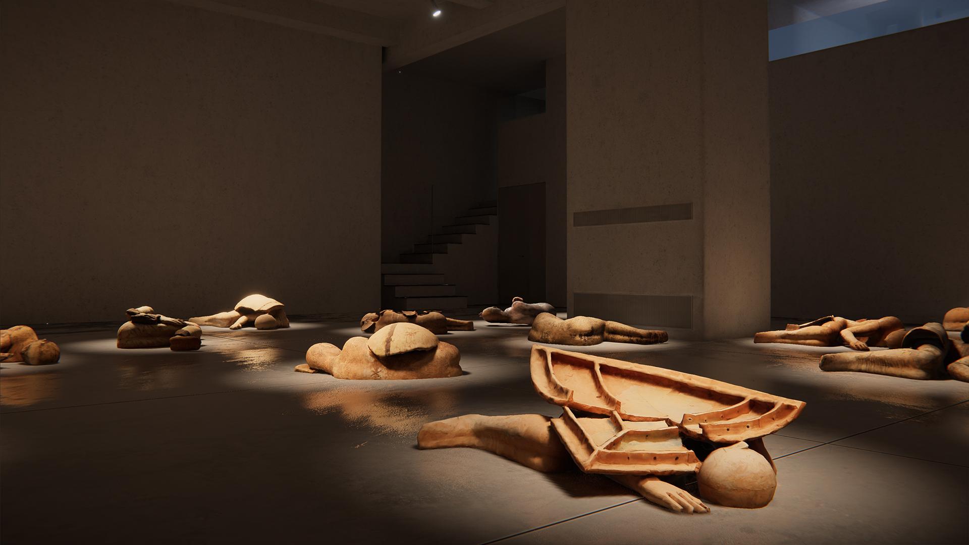 I Dormienti di Mimmo Paladino, Cardi Gallery, 4