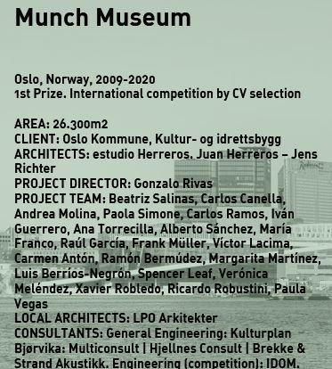 Juan Herreros and Jens Richter, Project