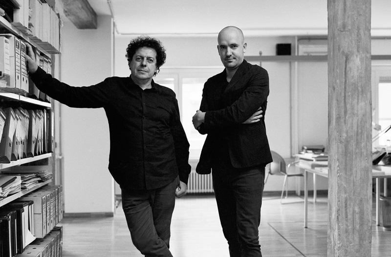 Juan Herreros and Jens Richter, estudio Herreros. Photo © Pablo G. Tribello