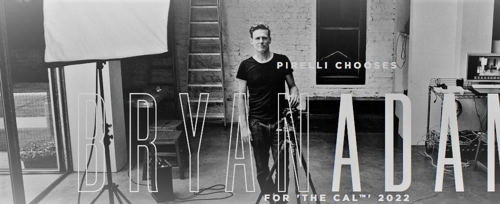 Bryan Adams ft 2022 Pirelli Calendar