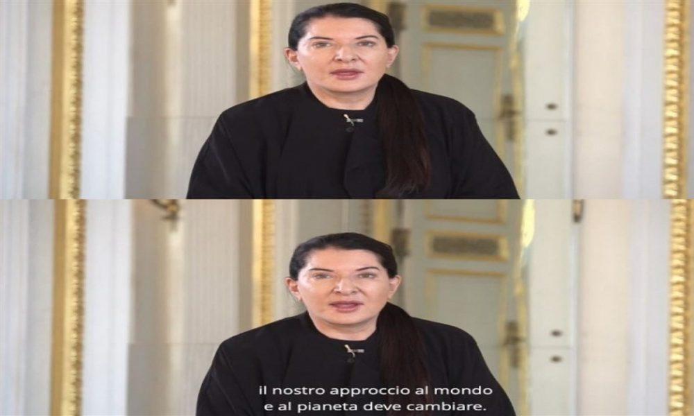 Marina Abramović all'Italia e al Mondo