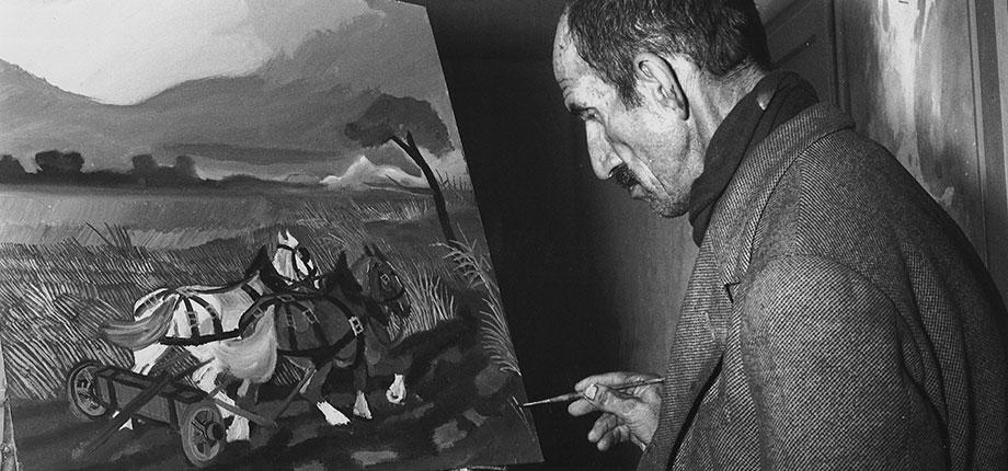 Antonio Ligabue, ritratto