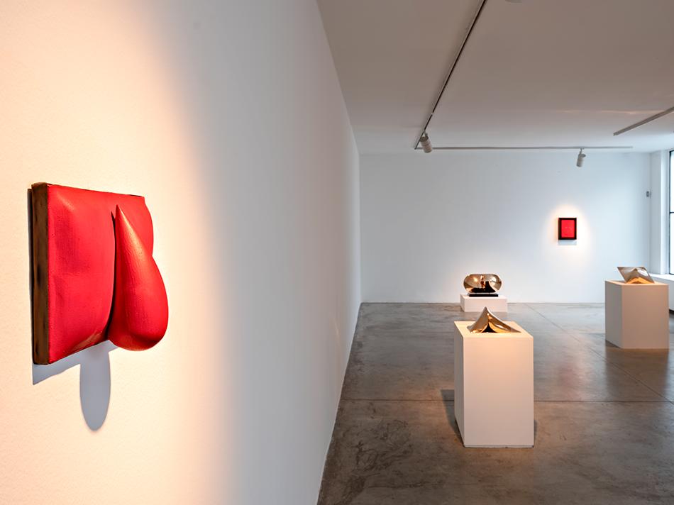 Agostino Bonalimi Installation view, Personale 2021, Milano, Galleria Cardi, foto Carlo Vannini, b