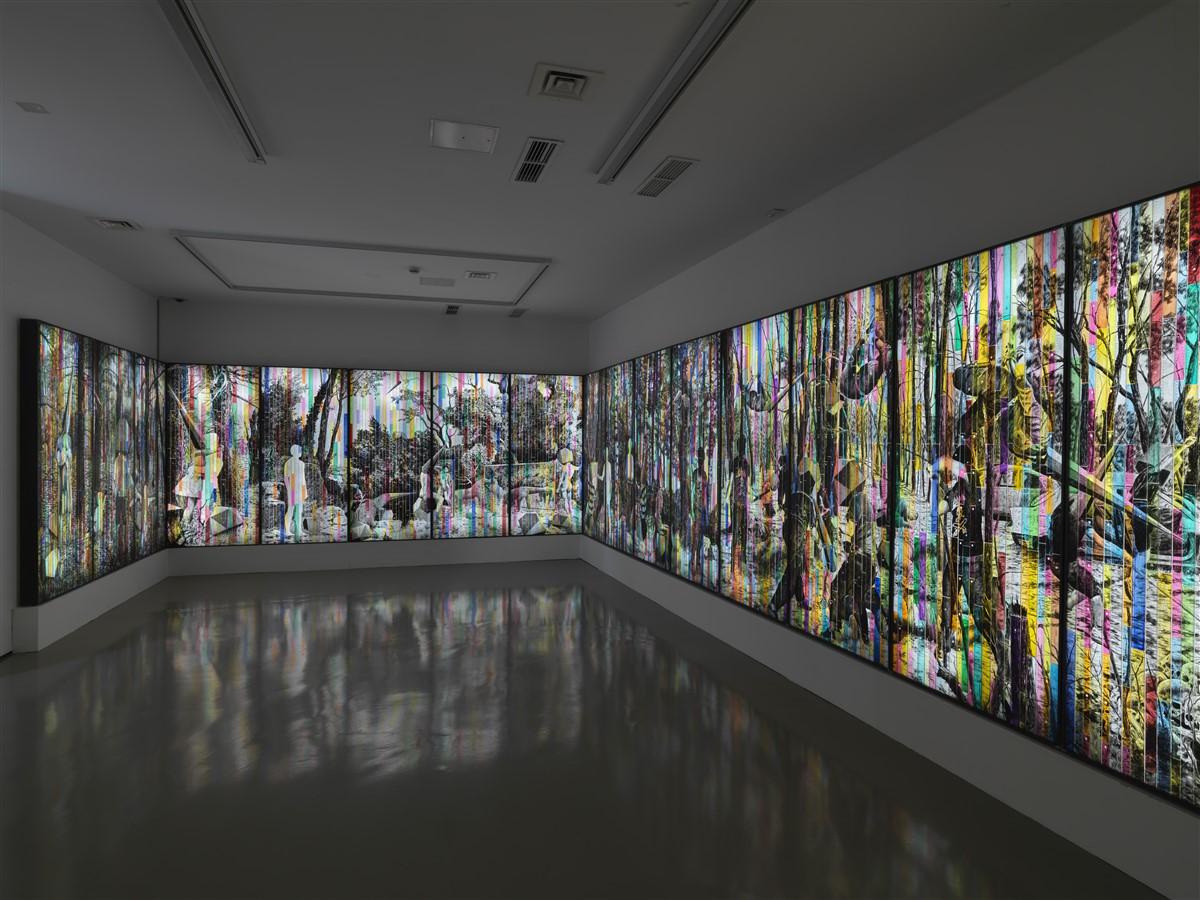 Andrea Mastrovito, La Melancolia dell'Uomo Invisibile, 2018-2021, Courtesy l'artista e Galleria Michela Rizzo Venezia