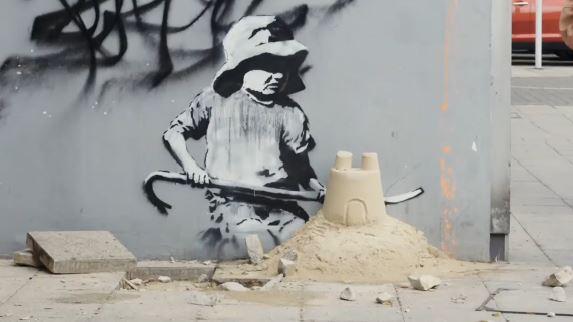 Banksy Summer 2021 Murals around UK, 3