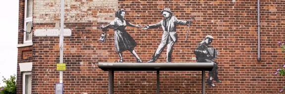 Banksy Summer 2021 Murals around UK, 4
