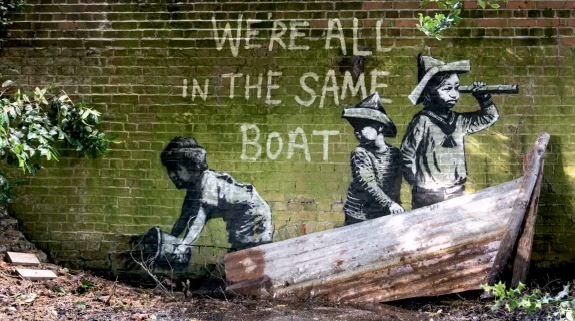 Banksy Summer 2021 Murals around UK