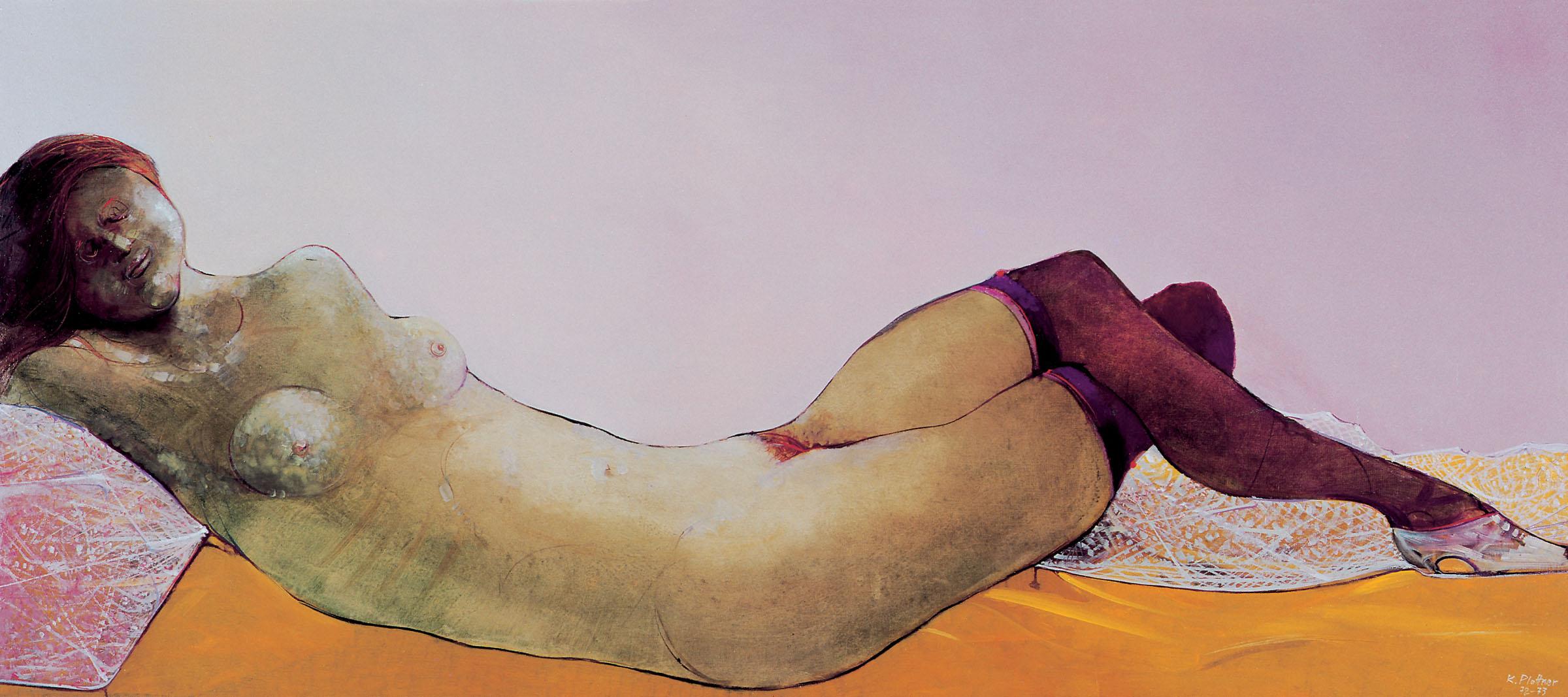 Karl Plattner, La bella addormentata, 1972-1973, Collezione privata Ennio Casciaro, Bolzano