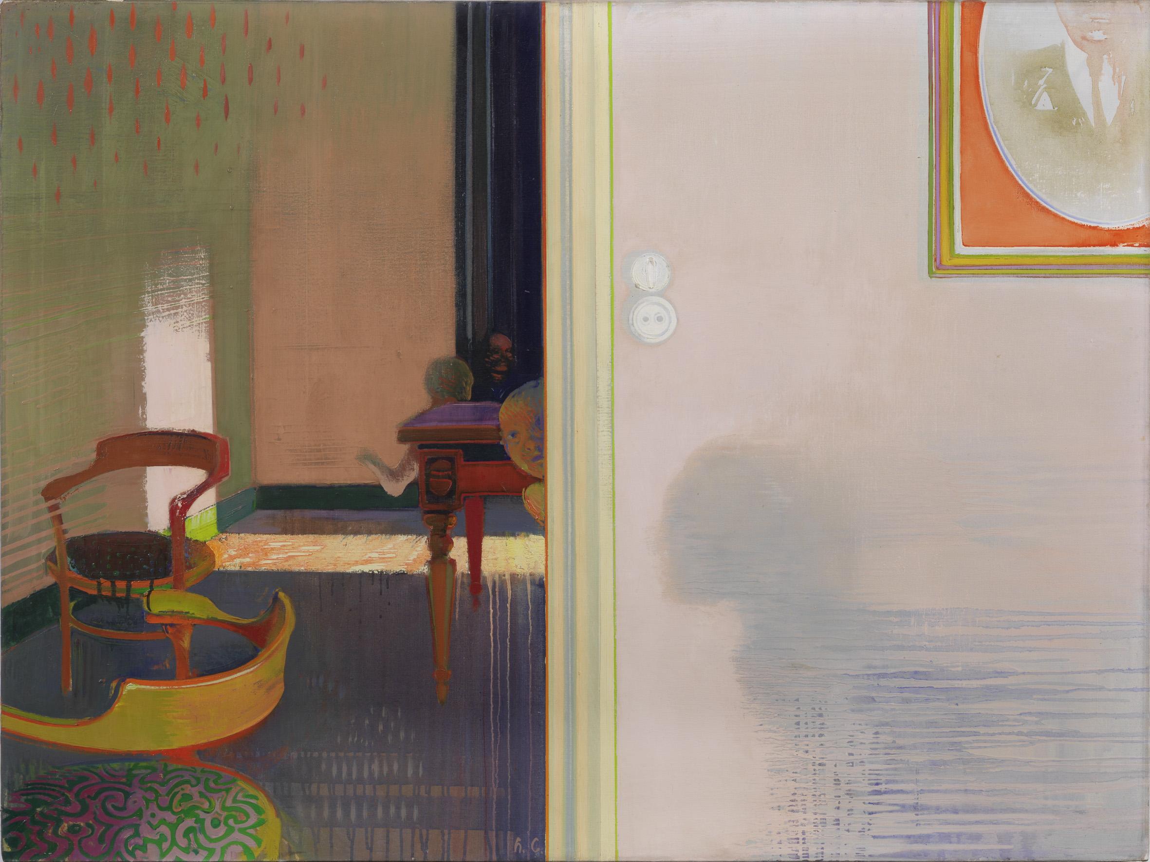 Leonardo Cremonini, Cache cache, 1965-1966, Collezione privata, Parigi