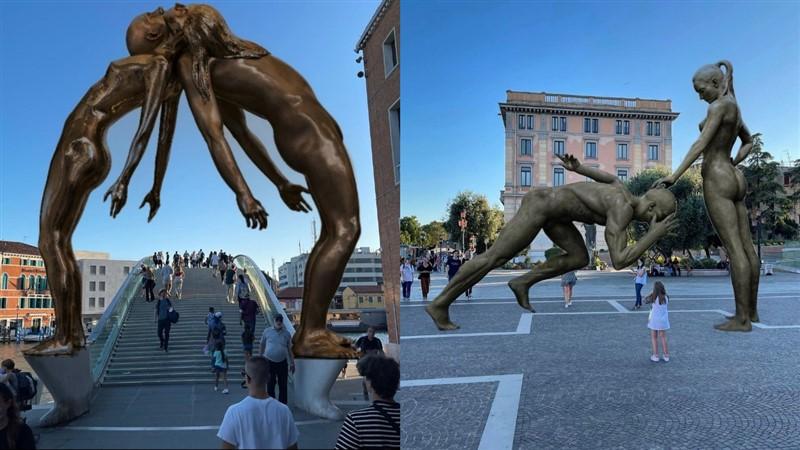 Lorenzo Quinn Illusione e Realtà