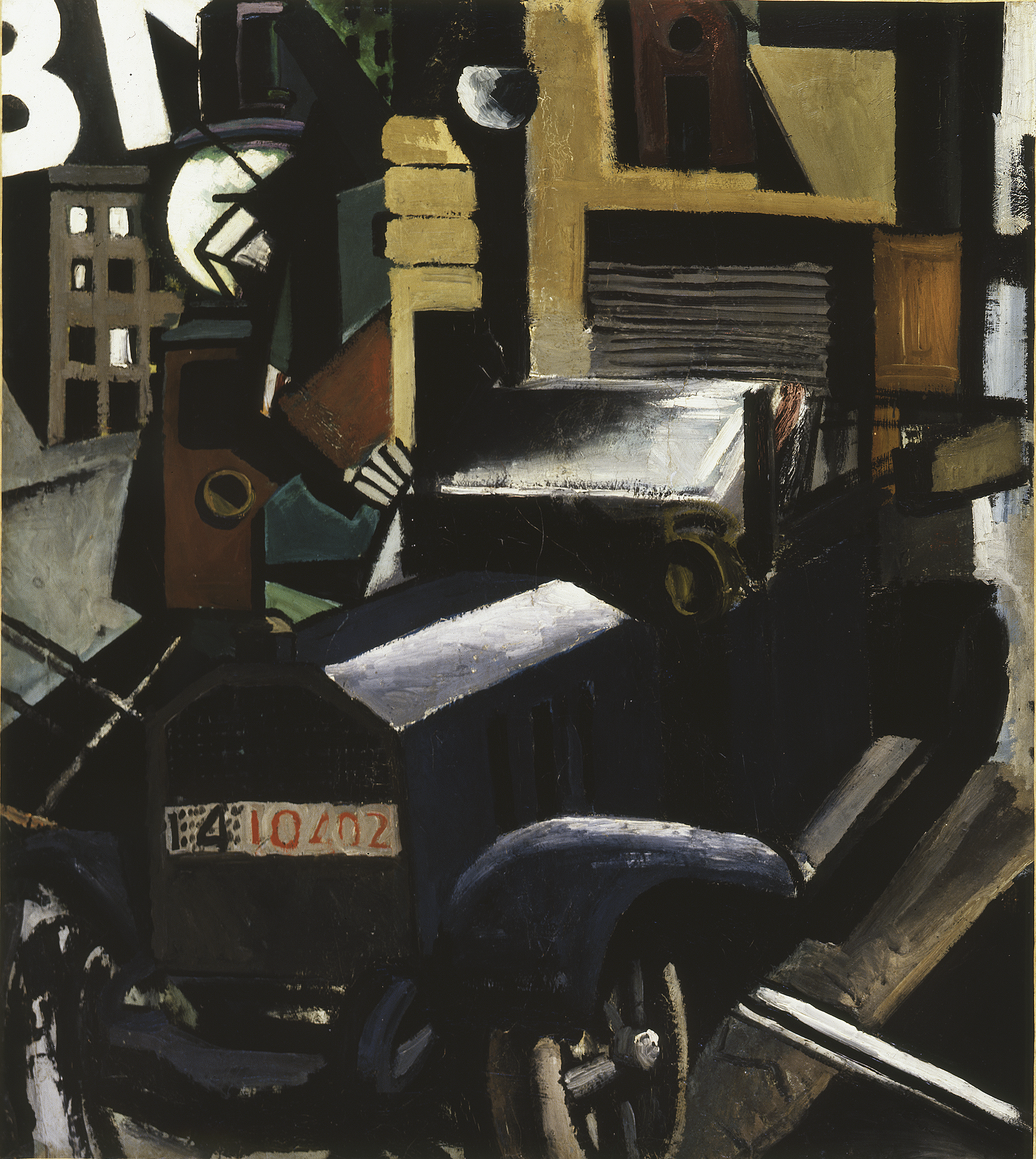 Mario Sironi, Il camion, 1914-15 - © by SIAE 2021
