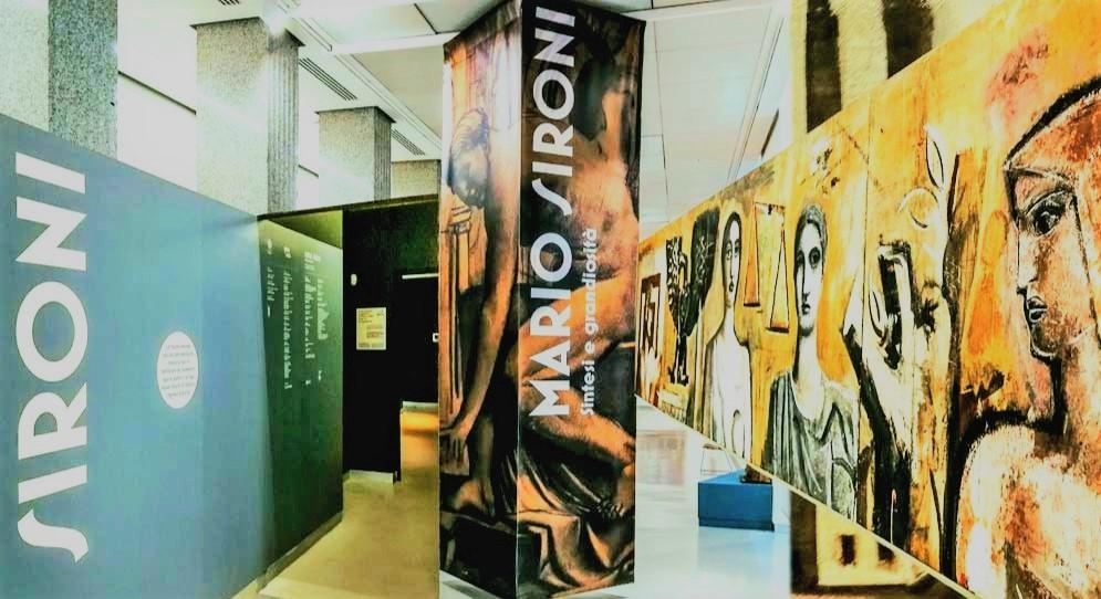 Mario Sironi, Museo del 900, Milano_esposizione, 1