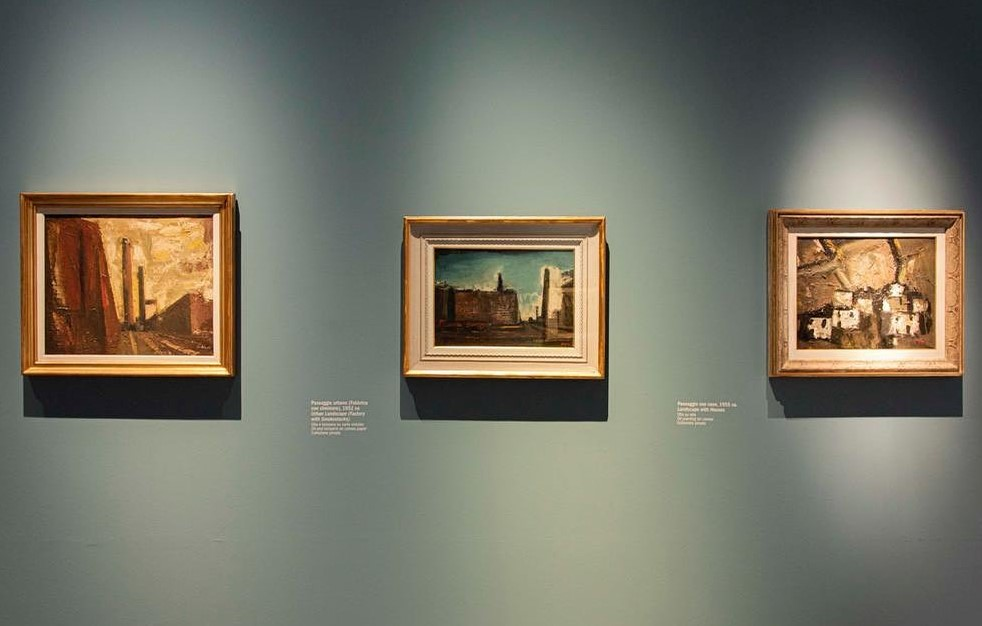 Mario Sironi, Museo del 900, Milano_esposizione, 3