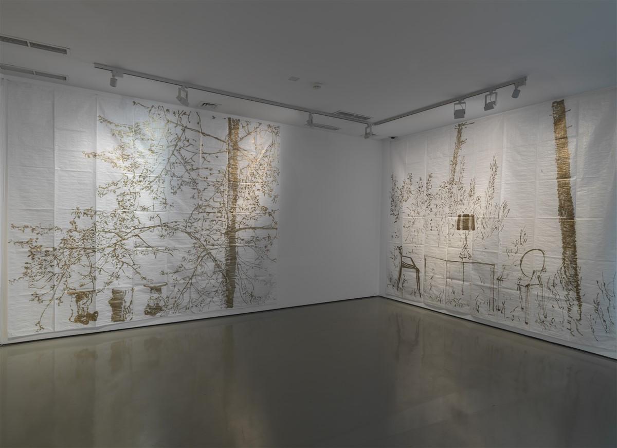 Stefano Arienti, Studio per Fra gli Alberi, 2015, Courtesy l'artista e Museo Kartell, Noviglio, Milano