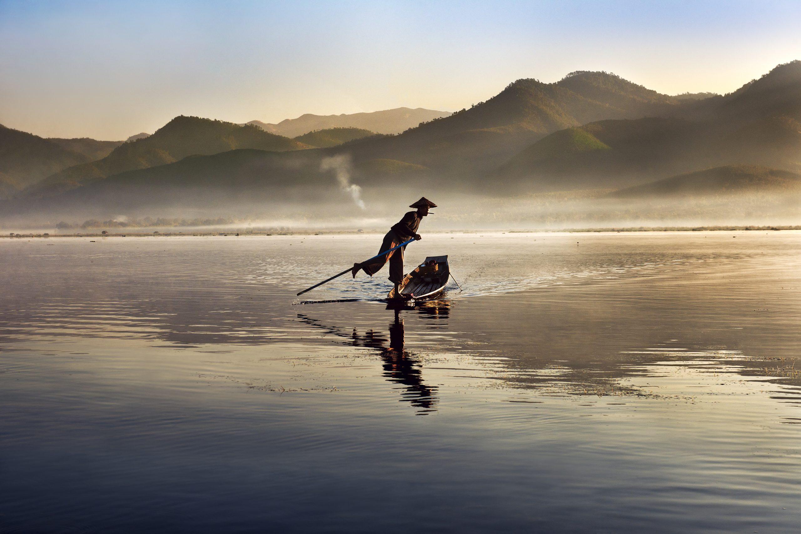 Steve McCurry, Inle Lake. Burma, 2011, ©Steve McCurry