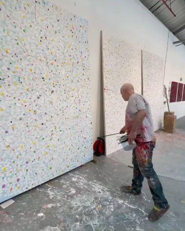 Damien Hirst Reverence Paintings