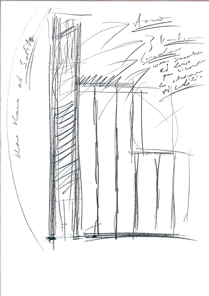 Jannis Kounellis - Resistenza e Liberazione - Bozzetto, studio, 2