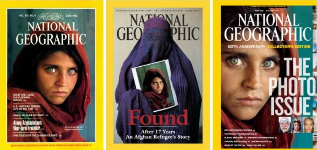 National Geographic_Covers_by McCurry