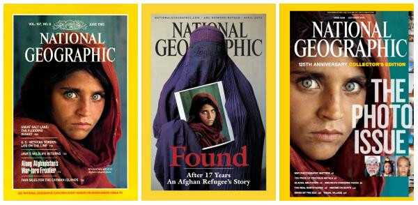 National Geographic_Covers_by Steve