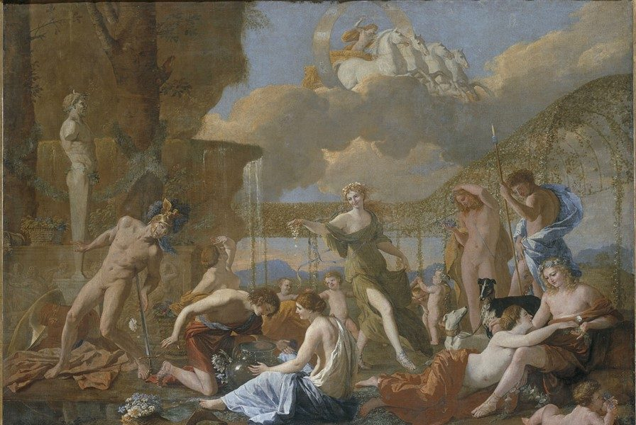 The Dance by Nicolas Poussin