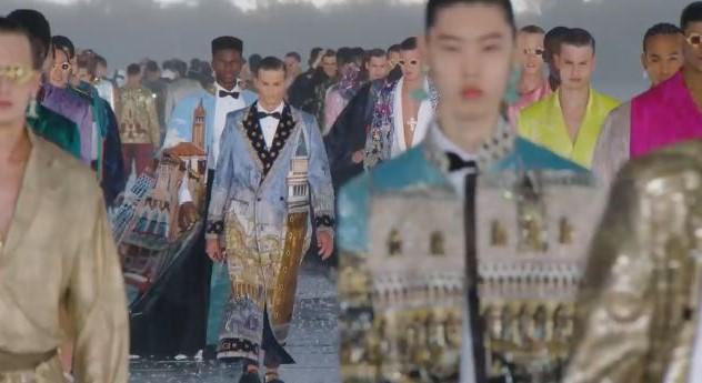 Uomo_Alta Moda_Venezia_2021_Dolce & Gabbana
