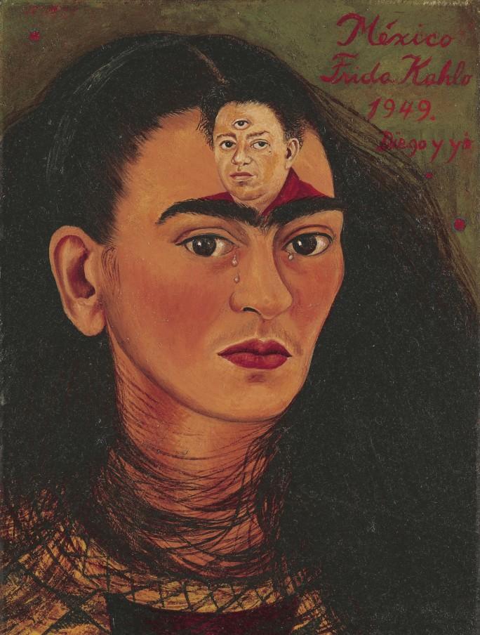 Frida Kahlo's Diego y yo (Diego and I)