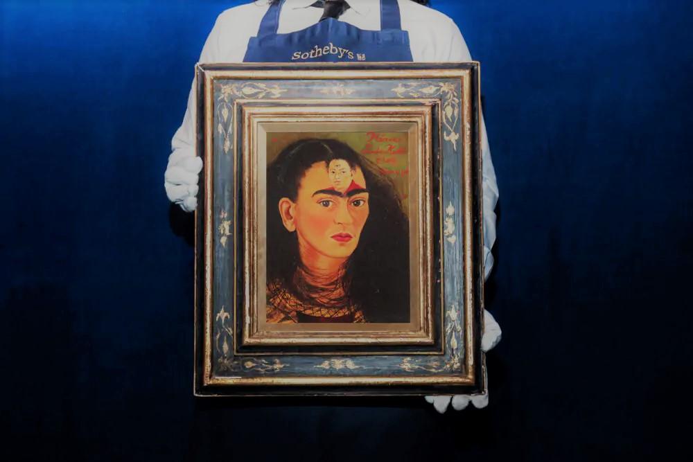 Frida Kahlo's Diego y yo (Diego and I)_Sotheby's_New york