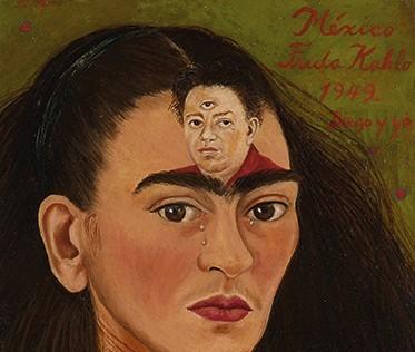 Frida Kahlo's Diego y yo (Diego and I)_ikon