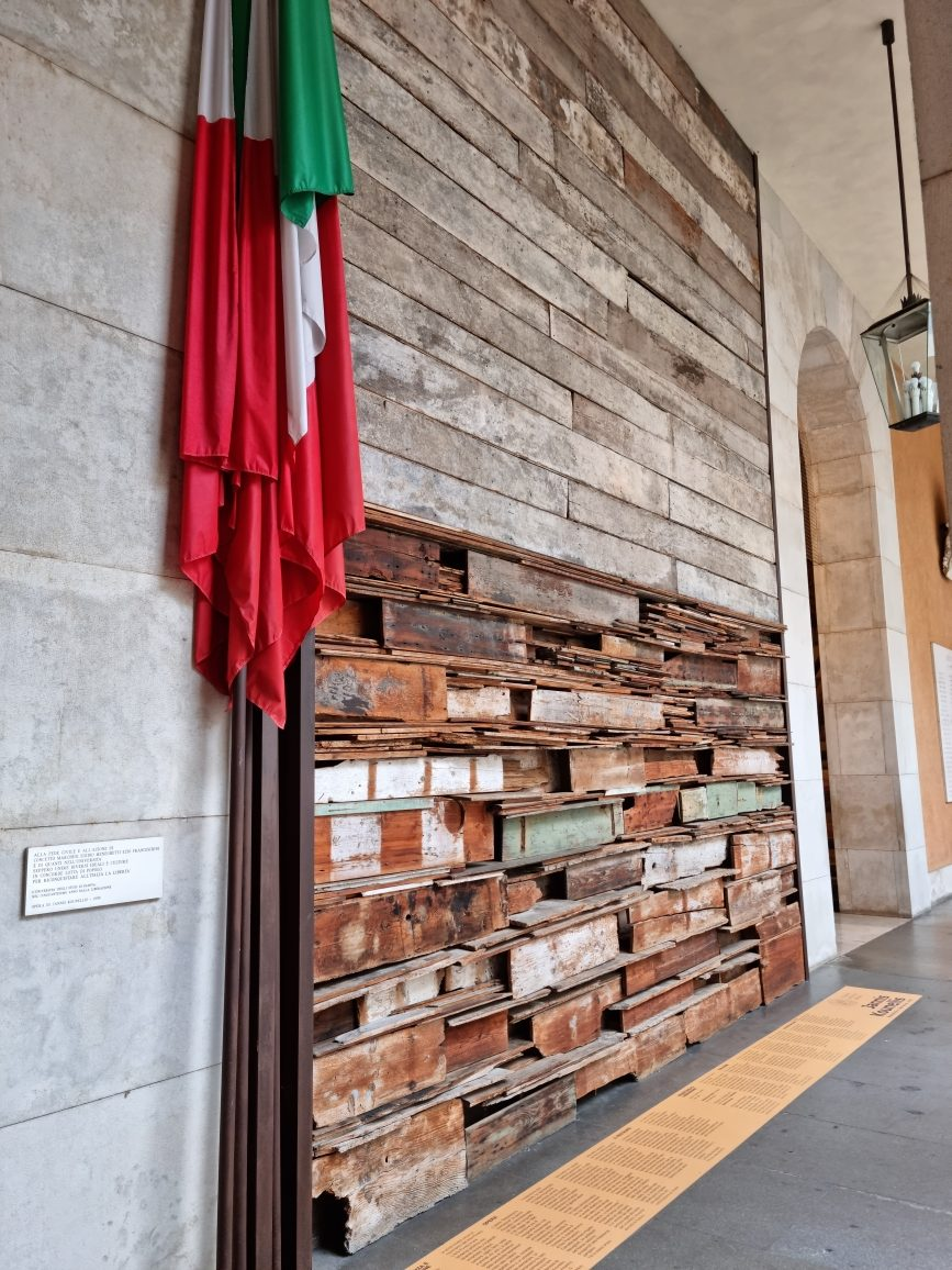 Jannis Kounellis_2021_Resistenza e Liberazione_Padova_Palazzo Bo (6)